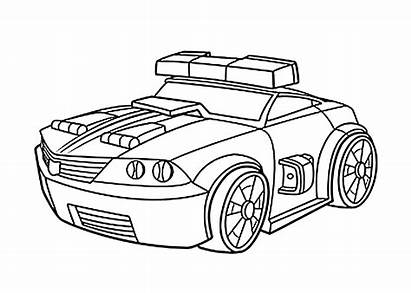 Rescue Bots Coloring Pages Chase