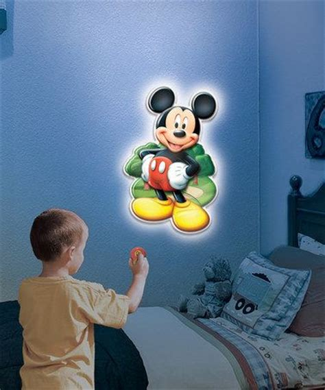 disney junior mickey mouse wall friends talking light