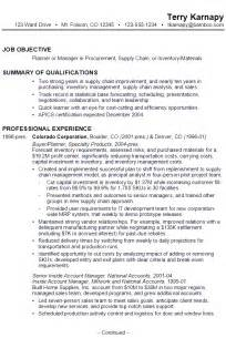 supply chain executive resume format resume for supply chain management susan ireland resumes