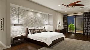 Bedroom wall tiles designs : Contemporary ceiling fans with lights wood accent wall
