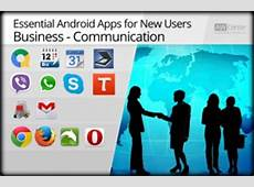 Essential Android Apps for New Users Business