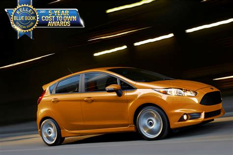 2017 Ford Fiesta St Wins Kbb Five-year Cost To Own Award