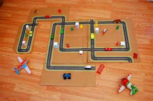 printable road maps for cars family crafts