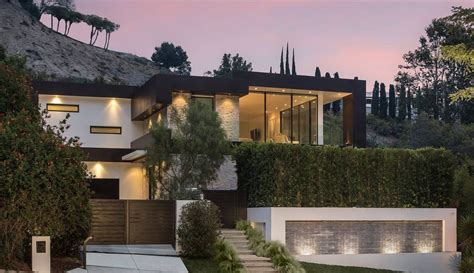 west hollywood luxury villa modern villas
