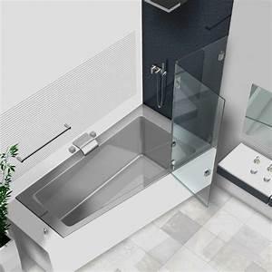 Duschtrennwand Badewanne Glas : duschwand badewanne badewannenaufs tze aus glas glasduschen ~ Michelbontemps.com Haus und Dekorationen