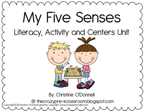 the pre k classroom my 5 senses unit and a freebie 5 | 5%2BSenses%2BTtreasure%2BHunt 001