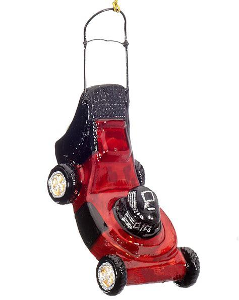 lawn mower christmasornaments com
