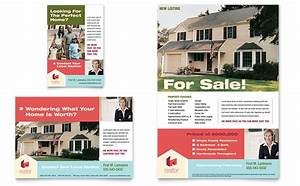 home real estate flyer ad template word publisher With real estate advertisement template