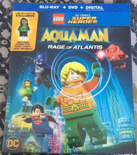 lego dc super heroes aquman rage  atlantis blu ray review
