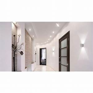 cubo alu mat applique grossmann vibert eclairage With porte d entrée alu avec luminaire salle de bain bhv