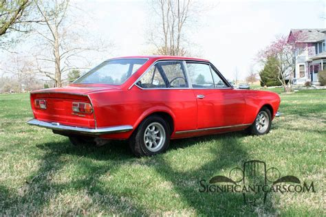Fiat Cars For Sale by 1969 Fiat 124 Sport Coupe Classic Italian Cars For Sale