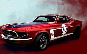 muscle, Cars, Boss, Racer, Vehicles, Ford, Mustang Wallpapers HD / Desktop and Mobile Backgrounds