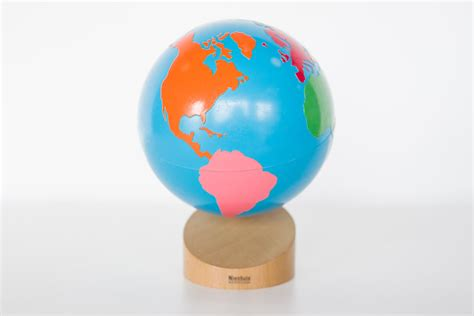Sandpaper And Colored Globes