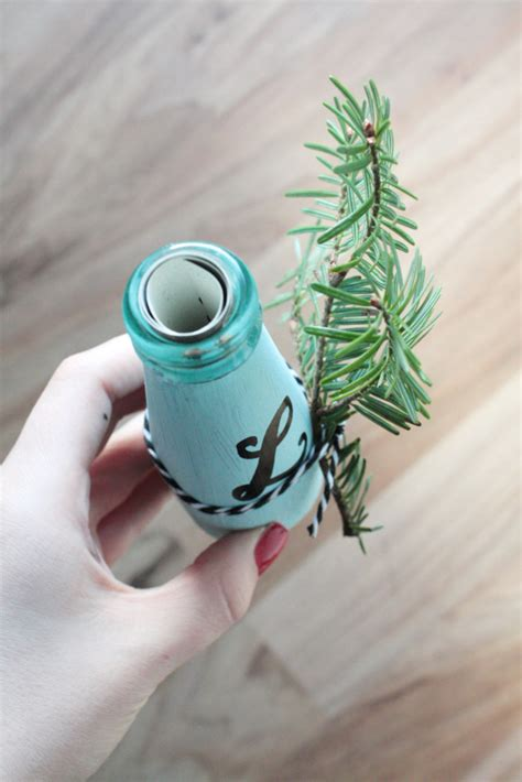 gutschein an flasche befestigen gutschein verpacken in einer flasche rosy grey