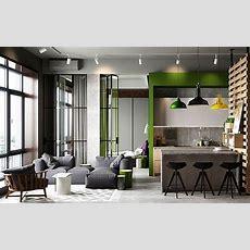 50 Small Studio Apartment Design Ideas (2019)  Modern