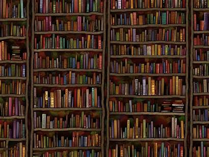 Club Meeting Library Books Wall Shelf Abstract