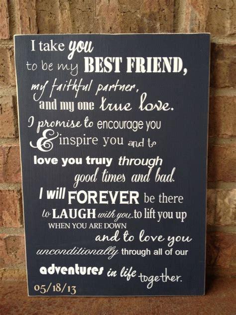 friend custom wood sign wedding