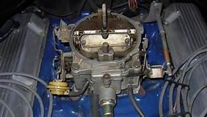 Carburetor - Rochester Quadrajet - 715 Cfm