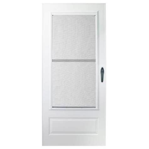emco 400 series door emco 32 in x 80 in 100 series plus white self storing