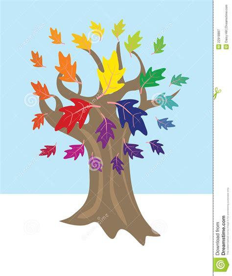 color wheel tree color wheel tree stock vector illustration of green