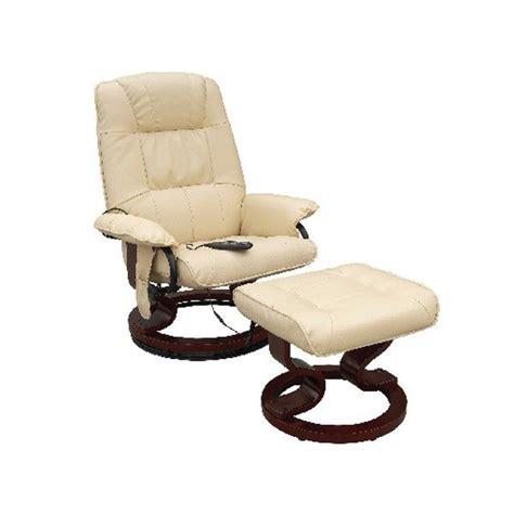 fauteuil massant de relaxation avec repose pied achat