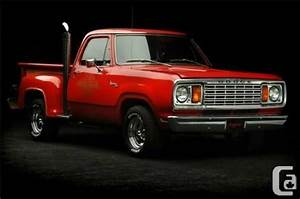 1979 Dodge D150 Little Red Express Collectors Rare