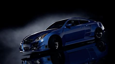 Hd Wallpaper Blue Car by Car Blue Cars Black Background 3d Wallpapers Hd