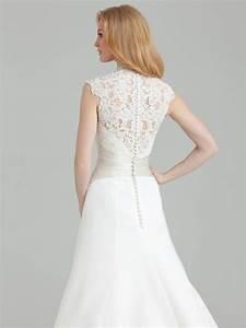 affordable lace back wedding dresses weddingbee With wedding dress with lace back
