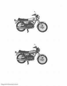 1975 Yamaha Rd250b And 1975 Yamaha Rd350b Service Manual