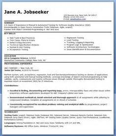 software tester resume headline 1000 images about resume and cover letter on resume cover letters and resume exles