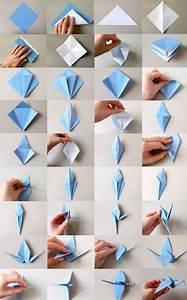 Origami Kranich Anleitung : gesamtanleitung origami kranich basteln pinterest origami kranich kranich und origami ~ Frokenaadalensverden.com Haus und Dekorationen