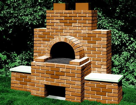 outdoor cooking area backyard brick bbq pits pit design ideas