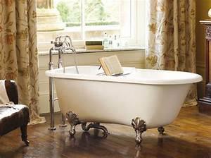 Petite Baignoire Retro : salle de bain retro photo affordable petite salle de bain ~ Edinachiropracticcenter.com Idées de Décoration