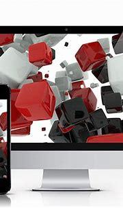 3D Cubes Wallpaper on Behance