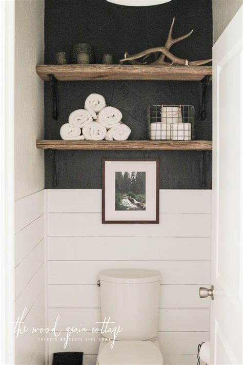 ideas  shelves  toilet  pinterest
