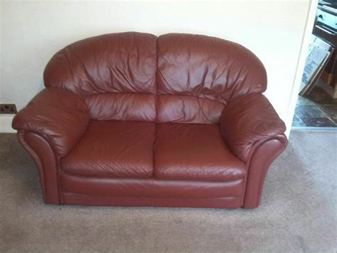 2 Seater Settee Second by Leather 2 Seater Settee In Whitworth Manchester Gumtree