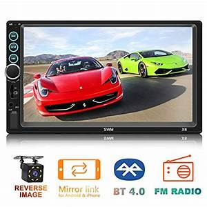 Double Din Car Stereo 7 Inch Touch Screen Car Mp5 Player