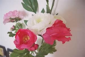 Fausse Fleur Deco : des petits bouts de deco girly le so girly blog ~ Teatrodelosmanantiales.com Idées de Décoration