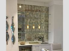 Antique Mirror Subway Tiles Builders Glass of Bonita, Inc