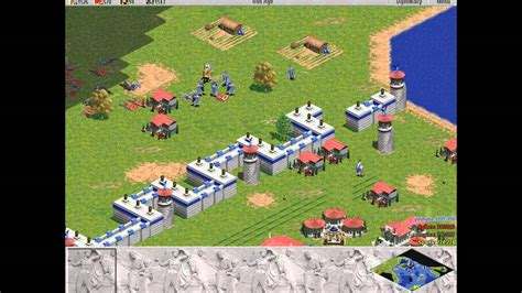 Age Of Empires 1 Greeks Level 6 Siege Of Athens Hd Youtube