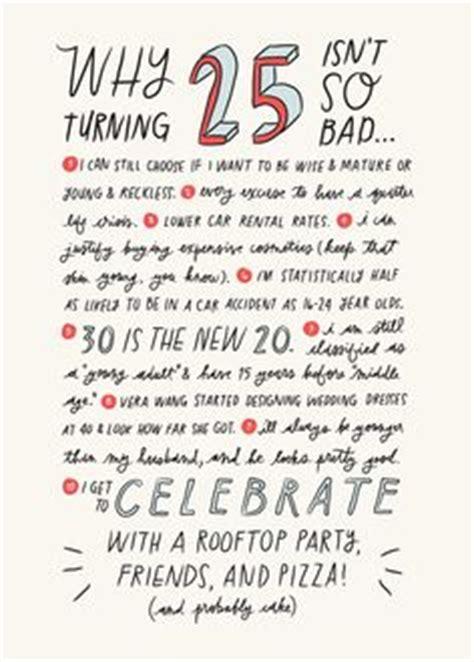 funny quarter century birthday quotes