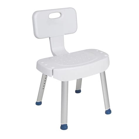 bathroom safety shower chair with folding back in houston