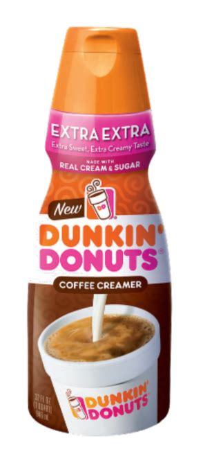 It really does make it taste like a coffee from dunkin' donuts. Dunkin Donuts Coffee Creamer $2.44 - Kroger Couponing