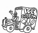 Ice Cream Truck Pages Drawing Coloring Sandwich Colouring Sheet Template Sketch Getdrawings Sundae sketch template