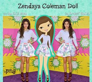 Zendaya Coleman Doll (en los KCA 2013) by RoohEditions on ...