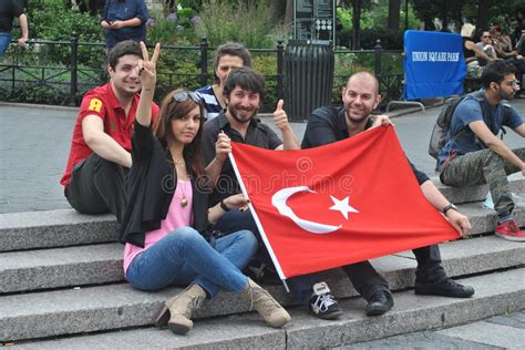 Supporting The Protesters In Istanbul Turkey Editorial Stock Photo  Image 31652593