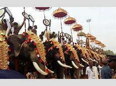 Thrissur Pooram 2017 Here's where you can watch the