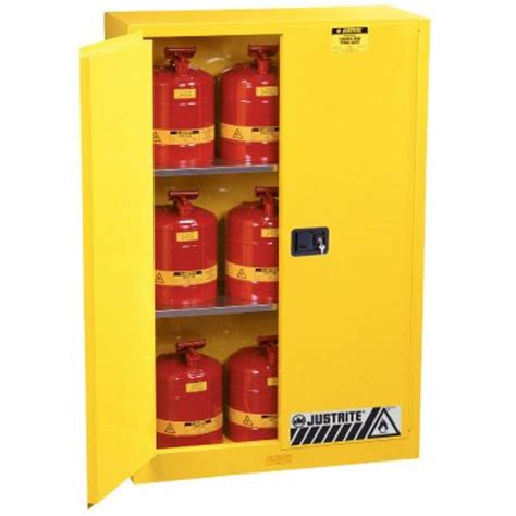 Justrite Flammable Cabinet Shelf by Justrite Flammable Liquid Storage Cabinets Seton