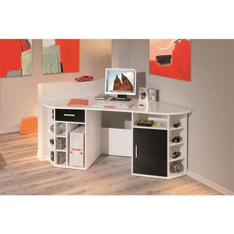 bureau d angle achat vente bureau bureau d angle bois m 233 lamin 233 cdiscount