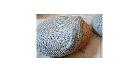 Turn An Ikea Pouf Into Something Bespoke With This Crochet